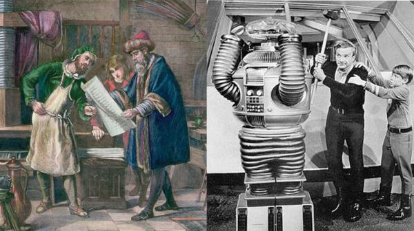 Gutenberg Robot